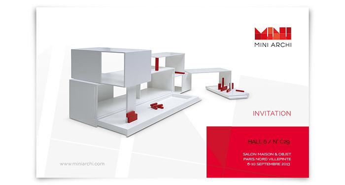 Mini Archi invitation