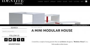 Mini Archi at Identite Book